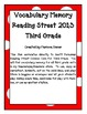 Vocabulary Memory - Reading Street 2013 - 3rd Grade - Unit 5