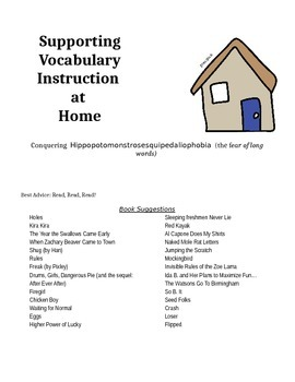 Vocabulary: Parent Handout
