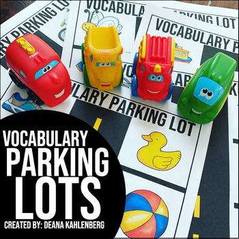 Vocabulary Parking Lots