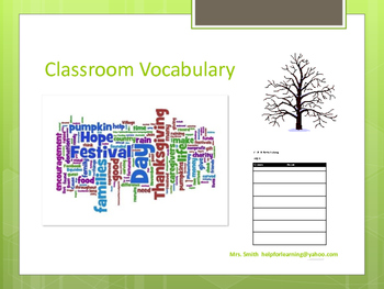 Vocabulary: Practice Worksheets