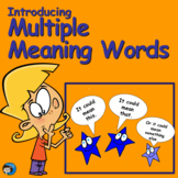 Vocabulary Practice with Multiple Meaning Words 1