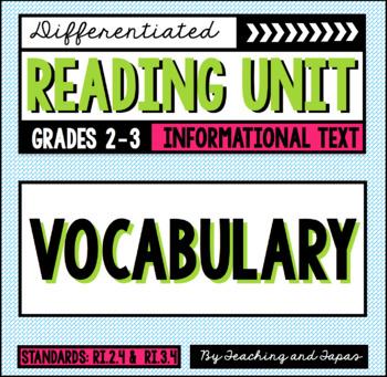 Vocabulary (RI.2.4 and RI.3.4)