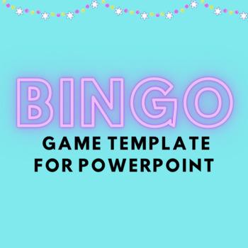 Bingo Vocabulary Review Game Template