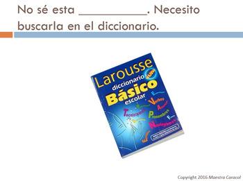 Vocabulary Review (Realidades 2 C1A)