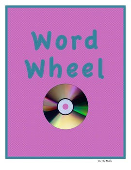 Vocabulary Review Word Wheel