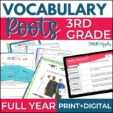 Greek & Latin Roots Word Study Vocabulary Program Grades 3