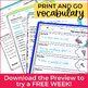 Greek & Latin Roots Word Study BUNDLE - Full Year Vocabula