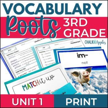 Greek & Latin Roots Word Study Vocabulary Program for Grad