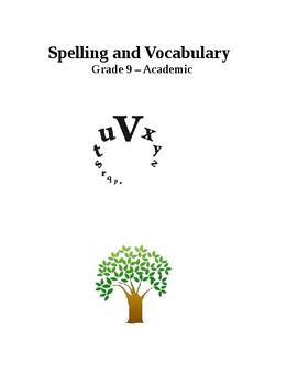 Vocabulary -Spelling - Academic 9