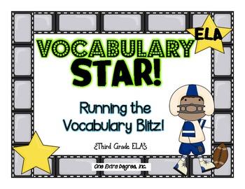 Vocabulary Star: Running the Vocabulary Test Prep Blitz!