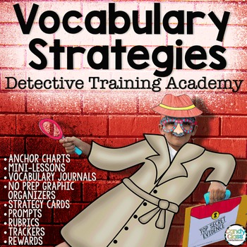 Vocabulary Strategies Detective Academy with Context Clues