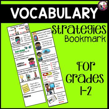 Vocabulary Strategy Bookmark #1