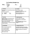 Vocabulary Strategy Handout:  The 6 Vocabulary Cheats!