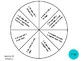 Vocabulary Wheels for 1st Grade Math - Centers, Review, Se