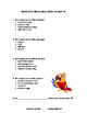 Word Bird Vocabulary Unit | Worksheets Review | NO PREP |