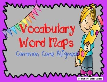 Vocabulary Word Maps
