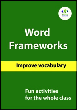 Vocabulary Worksheets - Word Frameworks