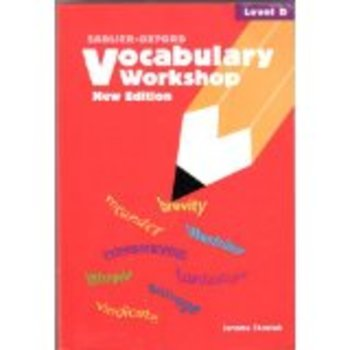 Vocabulary Workshop - Level D - Unit 12 quiz and key