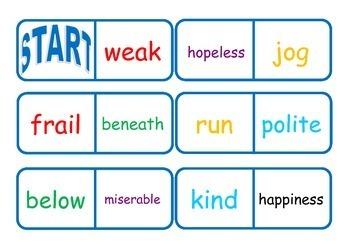Vocabulary Workstation Games Bundle