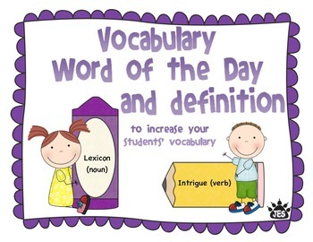 Vocabulary enrichment