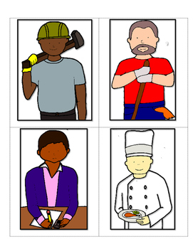 Vocabulary for Jobs and Occupations