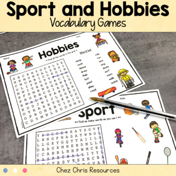 Vocabulary games: Hobbies and Sports