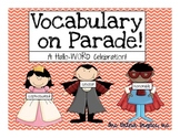 Vocabulary on Parade:  A Hallo-WORD Celebration!