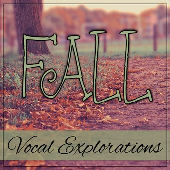 Vocal Explorations - Fall
