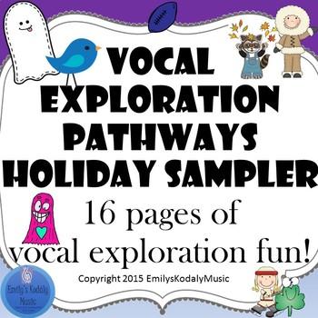 Vocal Explorations Holiday Sampler