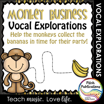 Vocal Explorations - MONKEY BUSINESS - Create + Compose Your Own