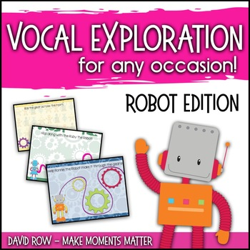 Vocal Explorations - Robot Edition