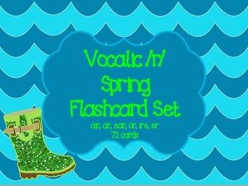 Vocalic R Spring Flashcards