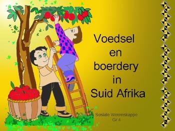 Voedsel en boerdery in Suid Afrika