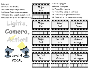 Voice Level 4 MOVIE Scales & Intervals
