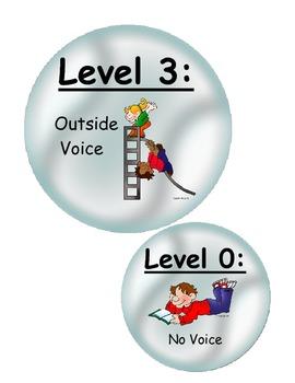 Voice Level Bubbles