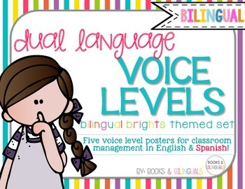 Voice Level Management Chart {Bilingual} Brights