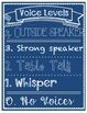 Classroom Management - Voice Level Poster