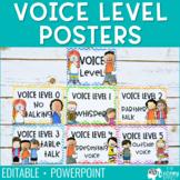 Voice Level Posters - Cursive Edition