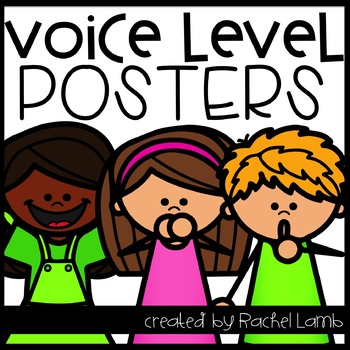 Voice Level Posters