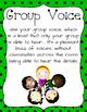 Voice Level Posters (Classroom Management)
