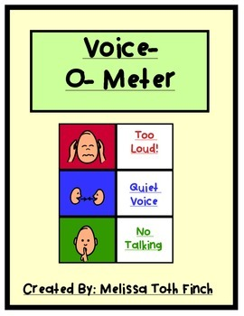 Voice-O-Meter: Visual Supports for Students with Special Needs