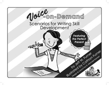 Voice-On-Demand:Scenarios for Writing Skill Development Textbook