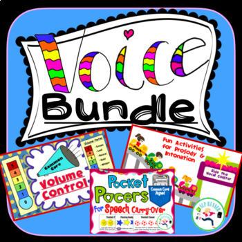 Voice Speech Bundle - Volume, Intonation, and Rate.