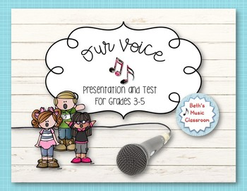 Voice Test - Vocal Concepts and Terms