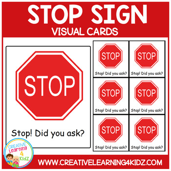 Stop Sign Cards