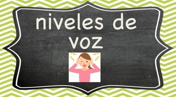 Voice level/noise-o-meter in Spanish