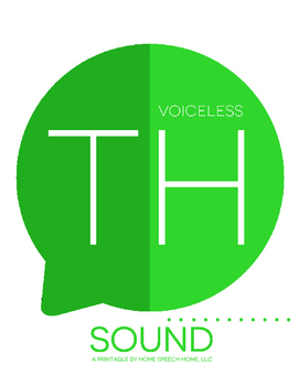 Voiceless TH Sound Printable Flashcards