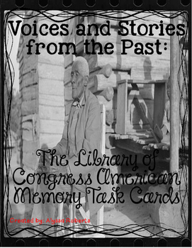 Voices from the Past: Audio Accounts from former Slaves Ta
