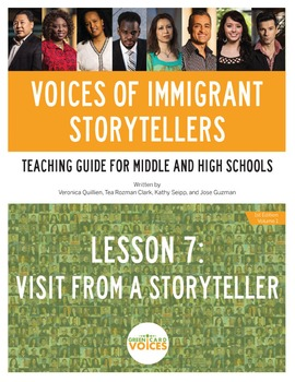 Voices of Immigrant Storytellers-Lesson 7: Visit From A St