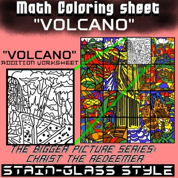 Volcano, Math addition - Bigger picture series (Redeemer) Math